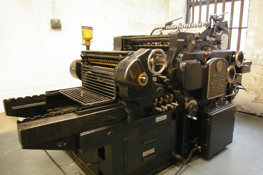 Paekakariki Press, Letterpress Workshop, Walthamstow, London